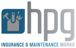 HPG Insurance & Maintenance Works logo for building insurance repairs About Page slider